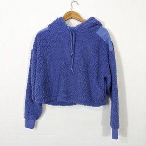 3/15 Z by Zella Sheila Fleece Hooded Purple